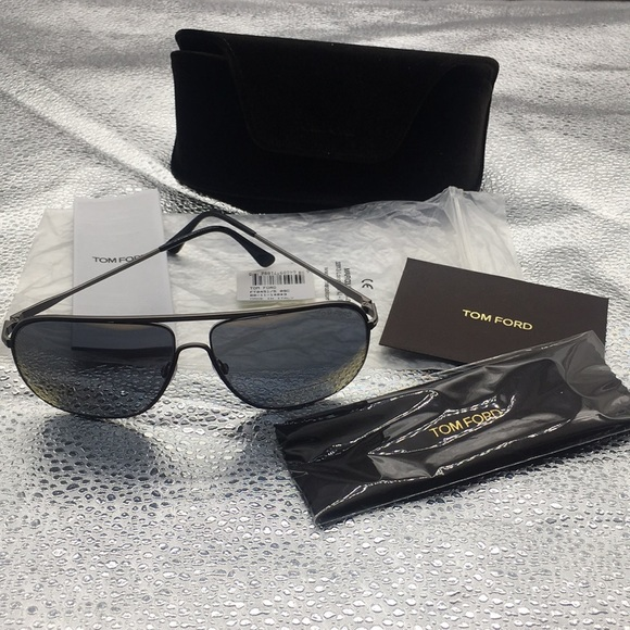 0300adf600aa Brand New Men s Tom Ford Dominic Silver Sunglasses.  M 5c688f9b7386bc433703e80a. Other Accessories ...